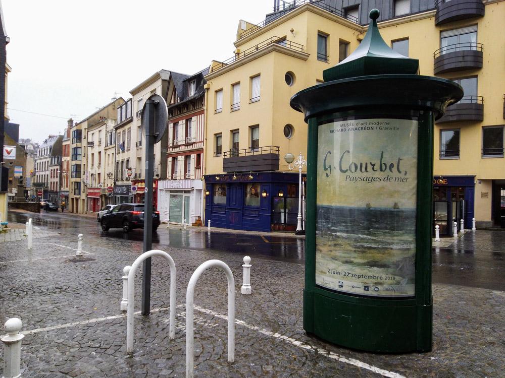 Exposition évènement Gustave Courbet Paysages de mer à Granville