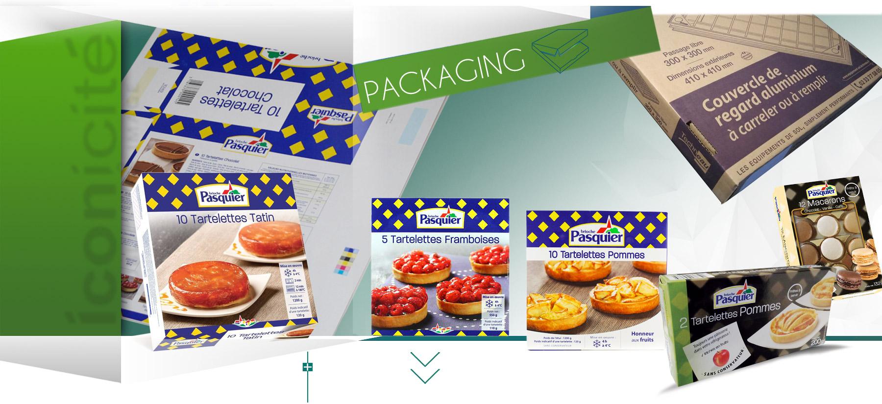 Iconicité graphiste à Annoville Manche notre expertise packaging