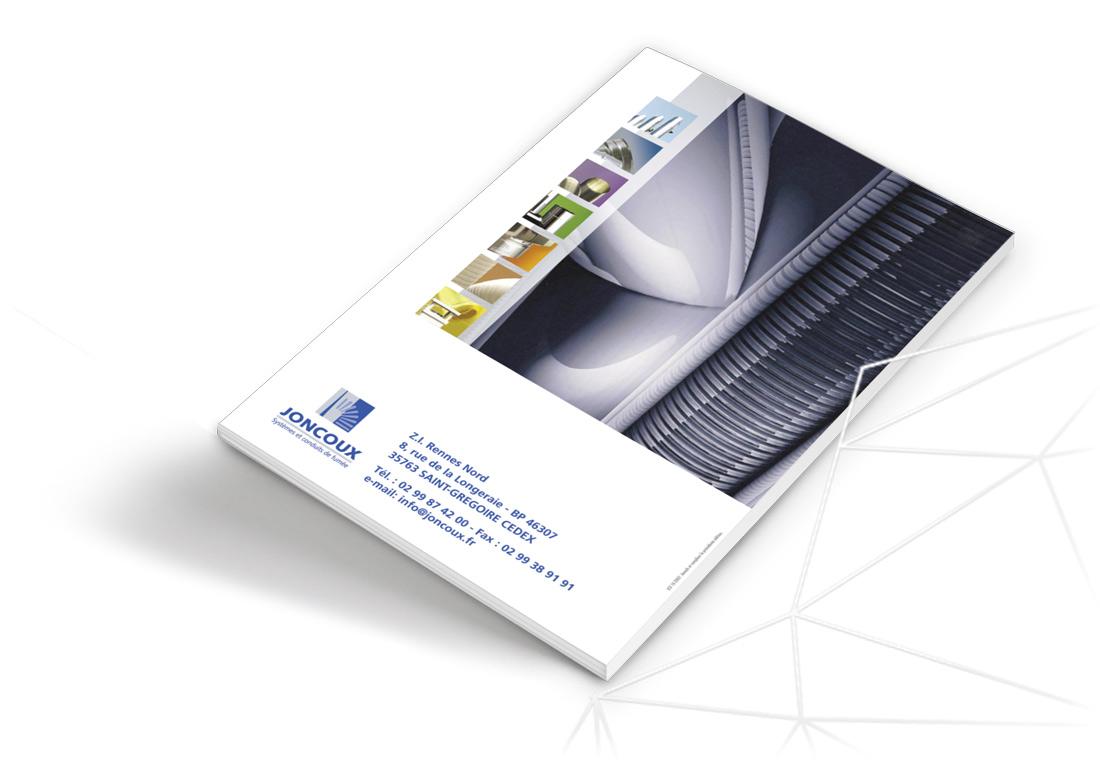 Joncoux dos catalogue général archive design Iconicité