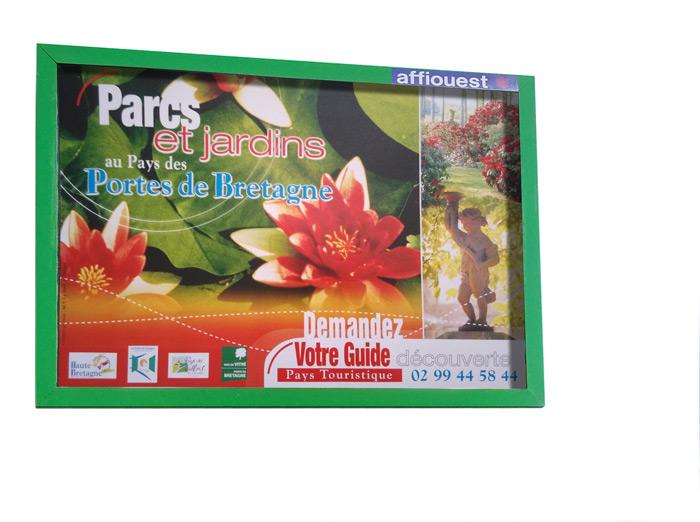 Affiche Parc Jardins Haute Bretagne Pays Vitré par Iconicité