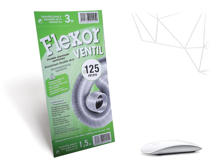 Etiquettes Flexor Ventilation relooking Iconicité