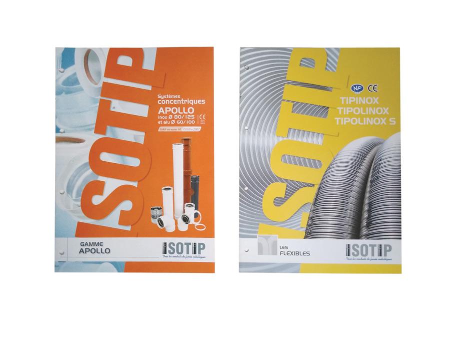 Isotip plaquettes gamme Flexibles et Appolo archives