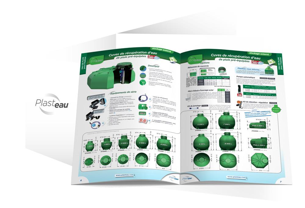 Focus Plasteau fiches techniques produits par Iconicité