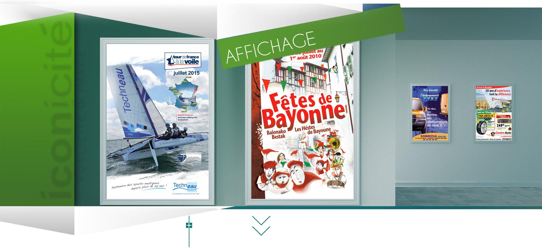 Iconicité freelance à Annoville réalise tous documents évènementiels print affiches