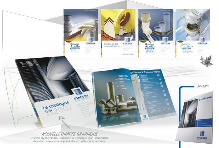 Charte graphique exemple Joncoux Industries