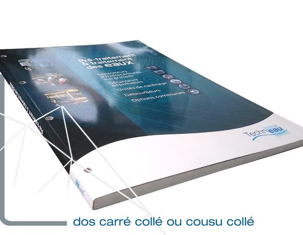 La finition catalogue dos carré design Iconicité