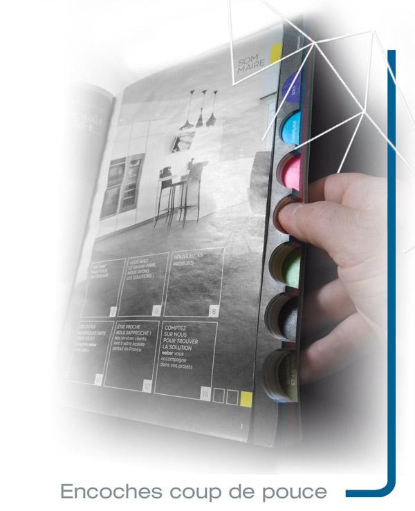 Focus catalogue Iconicité découpe encoches