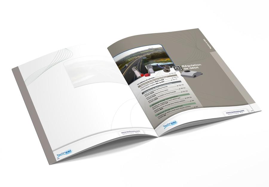 Catalogue équipements hydrauliques techneau détail sous-sommaire par Iconicité