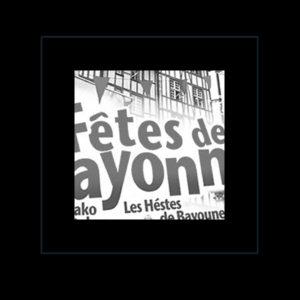 Projet studio graphique Manche Fetes de Bayonne