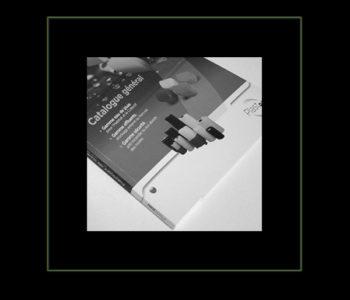Industriel réalisation catalogue par studio graphique Iconicité Manche