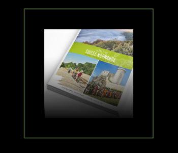 Réalisation Iconicité du Guide groupes Terres de Suisse Normande
