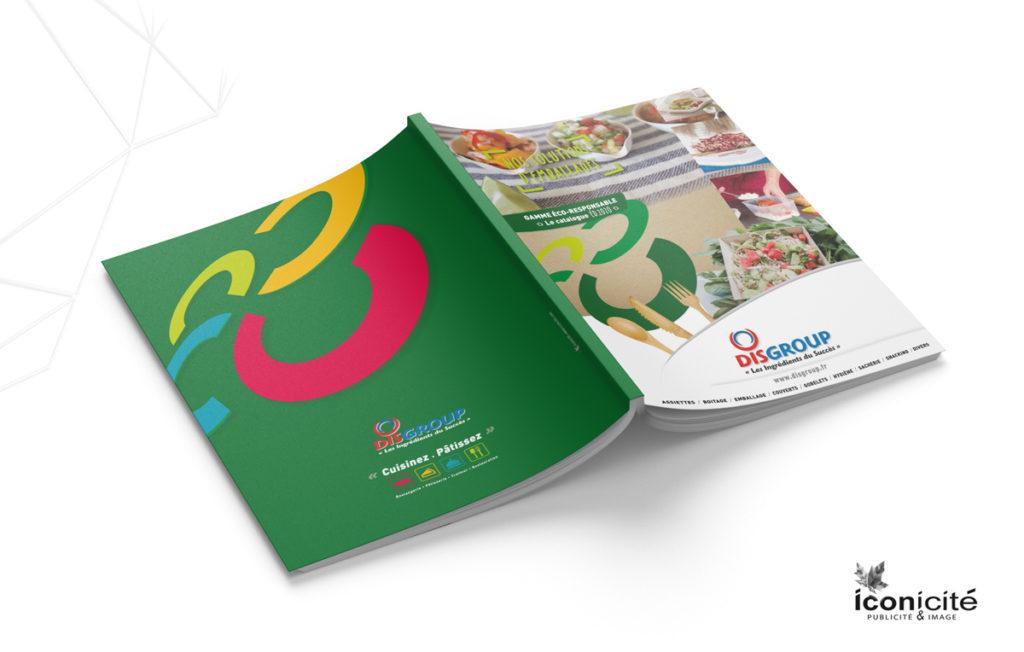 Catalogue Eco-responsable creation graphique Iconicite Normandie
