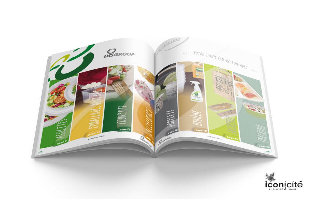 Sommaire creation graphique Catalogue Ecoresponsable Manche
